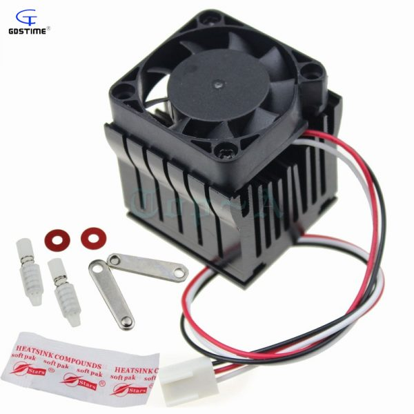 1pcs 40mm x 10mm Cooling Fan Heatsink DIY Northbridge Cooler South North Bridge Radiator for PC Computer
