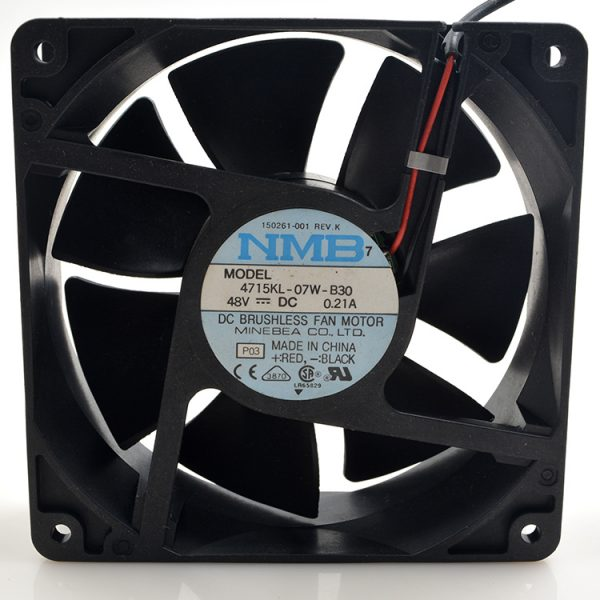 New original 4715KL-07W-B30 48V 0.21A 12038 12CM inverter cooling fan