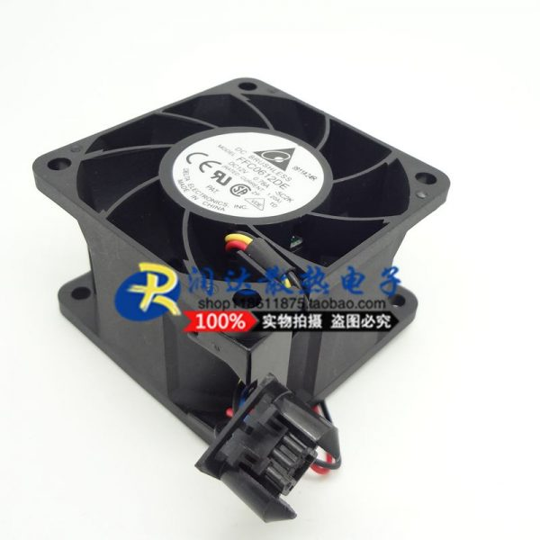 6038 6CM chassis server fan 12V 0.78A FFC0612DE PWM temperature control