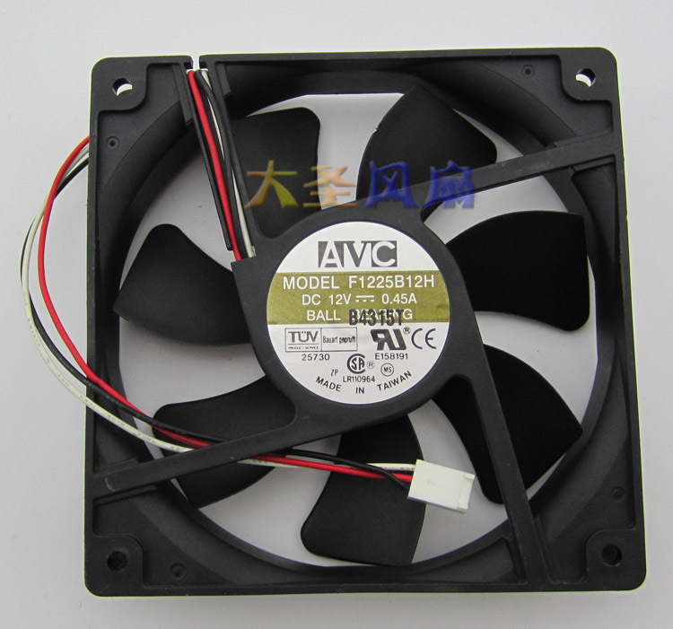 NMB Original 4710KL-04W-B20 12025 12CM 12v 0.25A cooling fan 120*120*25mm