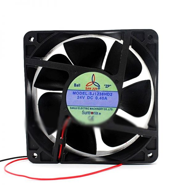For SANJUN SJ1238HD2 120*120*38mm 24V 0.4A Inverter cooling fan 3000RPM