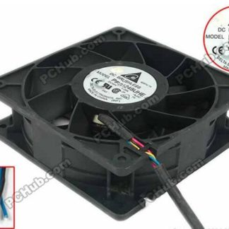 Delta PFB1248UHE AJ2C DC 48V 1.20A 120x120x38mm Server Square Fan