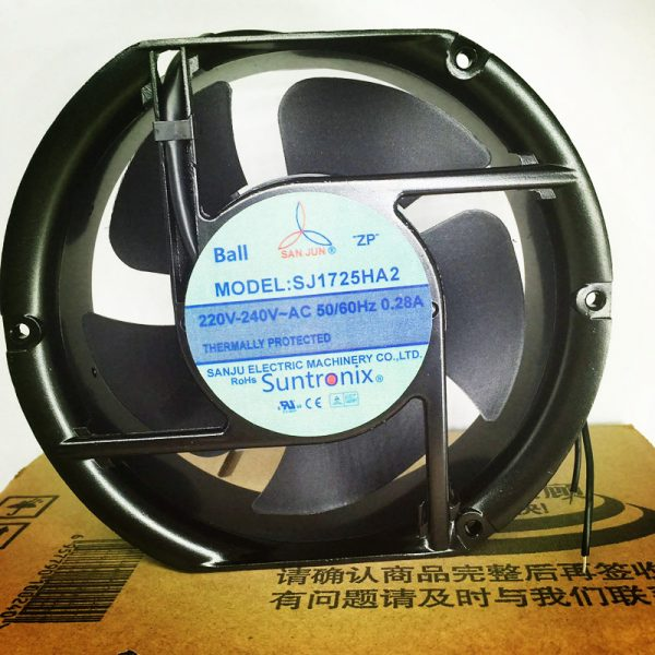 SAN JUN SJ1725HA2 220V 0.28A thermally protected axial fan