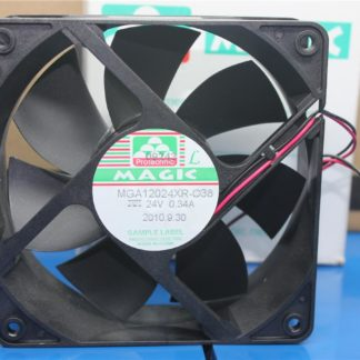 Original new MGA12024XB R-O38 12038 24V 0.34A inverter chassis small fan