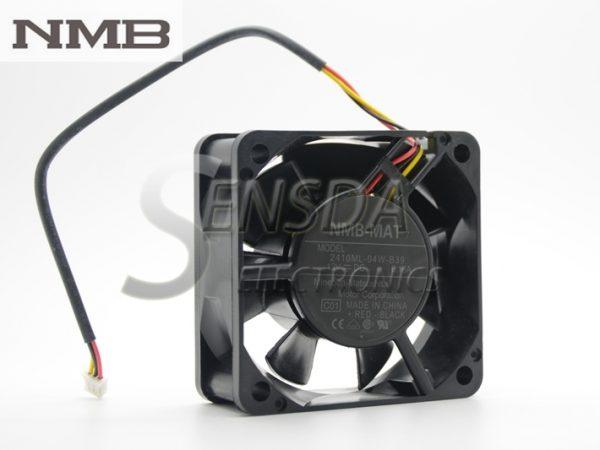 NMB 2410ML-04W-B39 6025 6cm 60mm 60X60X25 mm 12V 0.16A 3Wire server inverter cooling fan
