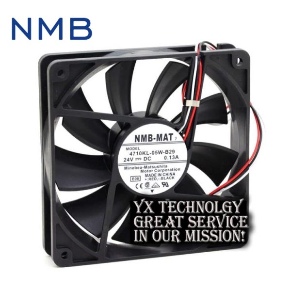 New 12025 4710KL-05W-B29 24V 0.13A 12CM alarm inverter fan for nmb