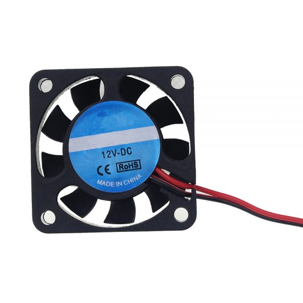 DC 12V 2Pin Mini Cooling Fan 40MM 40x40x10mm Small Exhaust Fan for 3D Printer