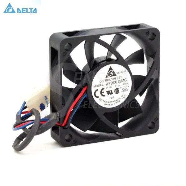 Original Delta AFB0612MC 6CM 60mm 6015 0.17A Dual Ball line CPU cooling fan 60x60x15mm dc 12v fan