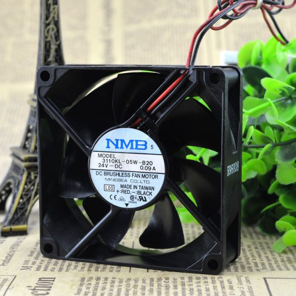 Free Delivery. 3110 kl - the B20 8025-05 w 8 cm 24 v 0.09 A super durable inverter fan