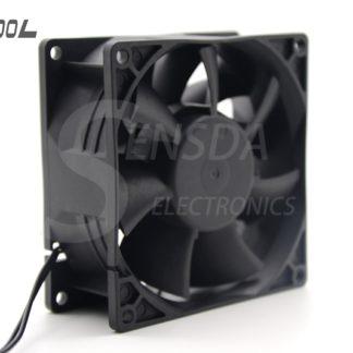 SXDOOL ec fan motor manufacturers 92*92*38 mm 92mm dual voltage 115V 230V 50/60 Hz 7W 3500RPM 79.9CFM case cooling fan