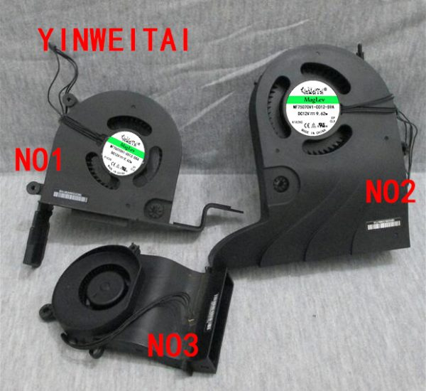 """New Cooling Cooler Fan For Apple iMac 27"""" A1312 For DELTA BFB0812HD-HM01 12V 0.97A -9B99 610-0035 069-3742 2009 2010 Mid 2011"""