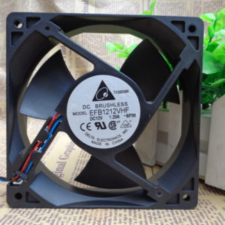 Delta EFB1212VHF 120x120x32mm 12cm DC 12V 1.20A 3 Lines Server Inverter Axial Cooling Fan
