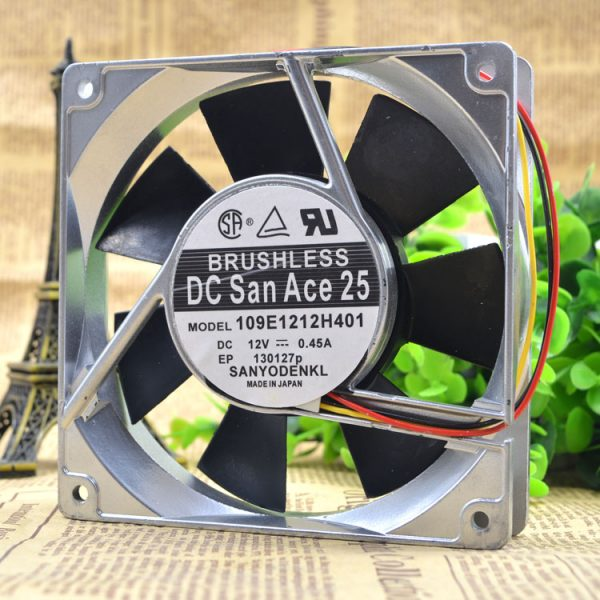 Free Delivery.12025 12 v 0.45 A 109 e1212h401 12 cm high temperature cooling fans
