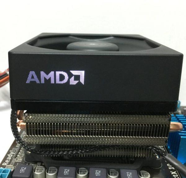 AMD FX-Series FX-8350 8300 Boxed CPU Original processor Cooler fan heat sink 4 Lines Brass radiator Coolers fans Radiator fan