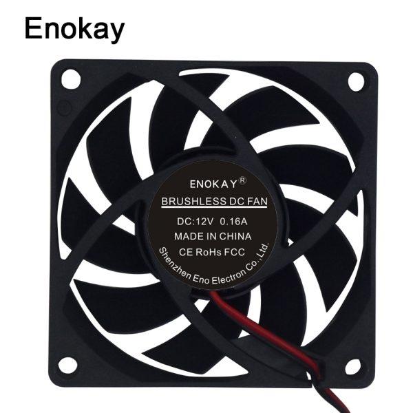 5pcs /lot Wholesale fan new original DC 12V 24V CPU server fan 7015 70x70x15mm 7cm fan with Grill