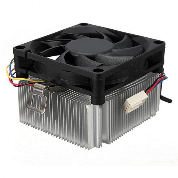 CPU Cooler Fan Radiator 9 Leaf 4 Pins 95W CPU Cooling Fan Aluminum Heatsink For AMD Socket AM2/3 754 939 940 1A02C3W00