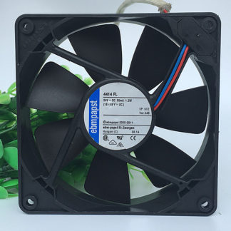 The new German EBMPAPST 8038 8cm 230V 8556N 80 * 80 * 38MM All metal temperature cooling fan