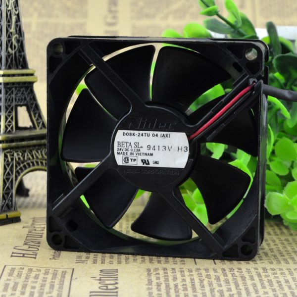 Free Delivery. 24 tu D08K - 04 (AX) 24 v 0.13 A 8025 inverter printer A cooling fan