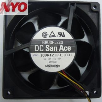 Original Sanyo 109R1212H1J031 12038 DC12V 0.55A cooling fan radiator fan Axial Fan