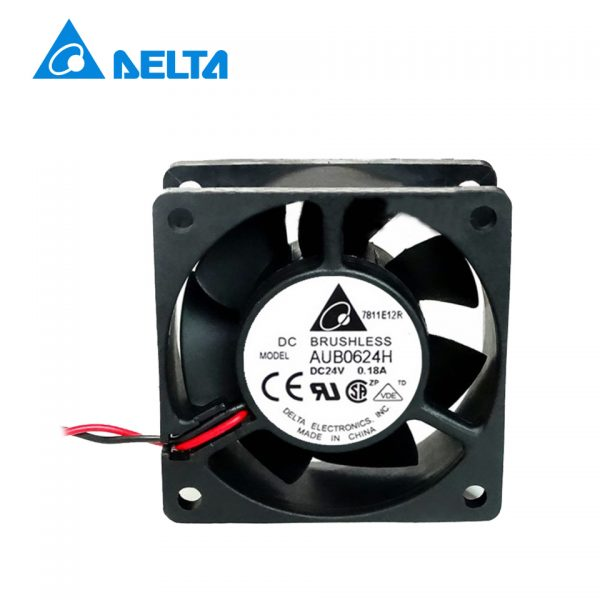 Delta Free shipping Original DFB0624H 24V 0.11A 6CM 6025 2-wire inverter fan cooling