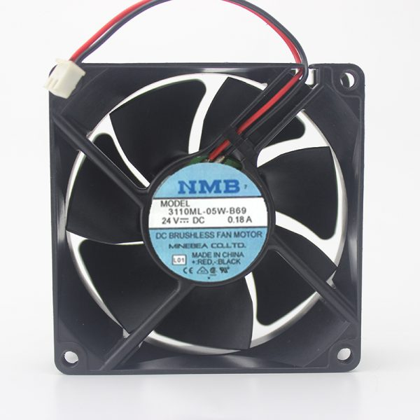 Ball 24V0.18A 8025 Inverter Industrial Computer Chassis Cooling Fan 3110ML-05W-B69