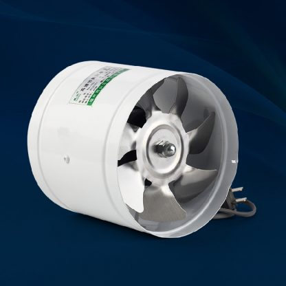 4 inch 4'' 100mm Kitchen Toilet Wall Circular Exhaust Fan Duct Blower Powerful Mute Axial Flow Fan Ventilator 25W 2800RPM