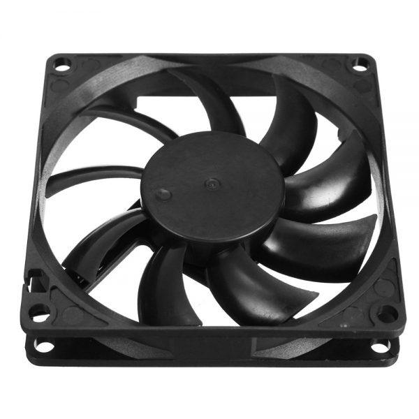 Hot Sale 1PC 9 Leaf 4 Pin 80mm*80mm*15mm CPU Cooler Fan DC 12V Cooler Case Fan Heatsink Cooling Radiator for Computer PC CPU