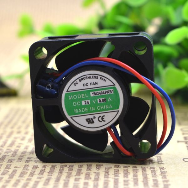 Free Delivery. YM2404PKB1 DC24V 0.08 A 2 line frequency inverter fan 4020 4 cm