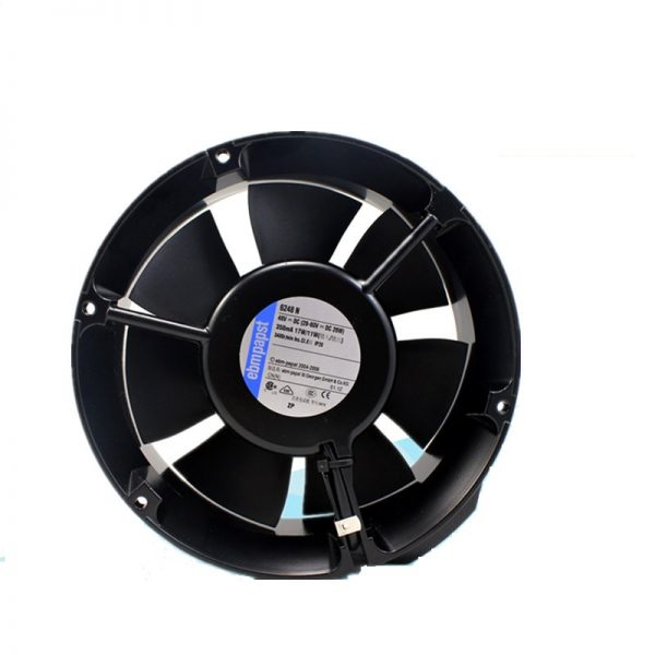 New original 6248N 48V 1725117 cm round aluminum frame axial flow cooling fan