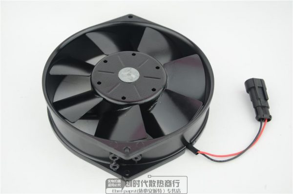 ebm-papst 7114NHR 7114 NHR ACS400/ACS800 ABB inverter Fan DC 24V 19W 150X150X38mm 2-wire