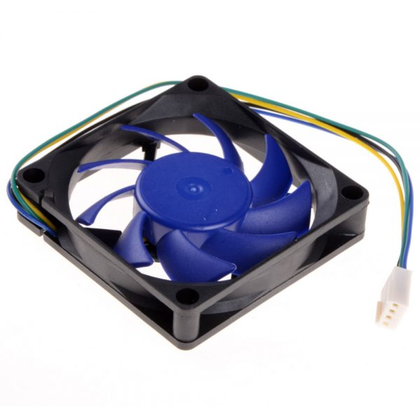 1 Piece 7CM 4Pin CPU Cooling Fan HeatSink Hydraulic Detachable Blades FY-715 Replacement Brushless Desktop Cooler Fans P0.11