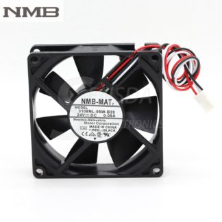 NMB 3108NL-05W-B39 8020 8CM 24V 0.09A three-wire inverter fan