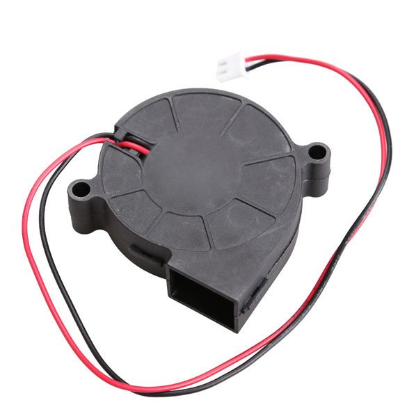 Ultra Quiet MID Speed Black Brushless DC Cooling Blower Fan DC 5V / 0.1-0.3A 50x15mm XXM