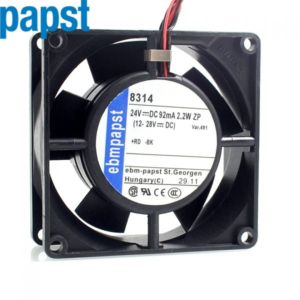 10pcs 2-wire 83*83*14 2.2W double multifan 8032 8314 inverter cooling fan