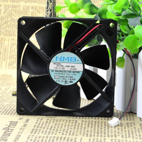 NMB 9225 3610KL-04W-B50 12V 0.43A UPS dedicated fan server inverter fans