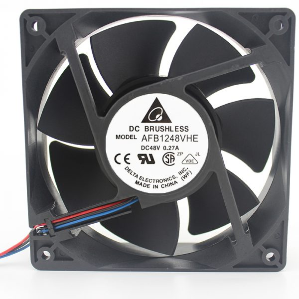 Brand new original AFB1248VHE 12038 12cm 48V 0.27A 3-wire double ball server fan