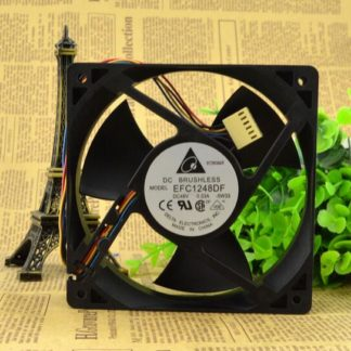 Original DELTA 120*120*32 48V 0.33A EFC1248DF 12 cm four wire fan