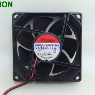 Sunon EE80251B3-000C-A99 8025 80*80*25 mm 12V 1.1W power supply fan dual ball bearing