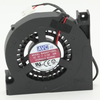 Original AVC BASA0712R5L DC 5V 0.15A 2-lines Laptop cooling fan