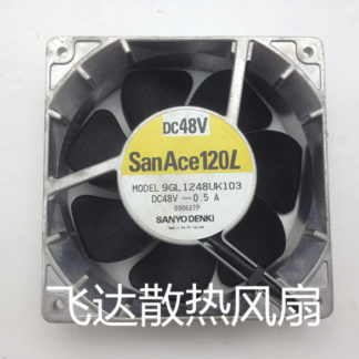 Sanyo 9GL1248UK103 DC 48V 0.5A, 120x120x38mm Server Square fan