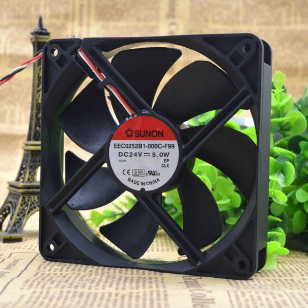 Free Delivery.EEC0252B1 24 v 5.0 W - 000 - c - 12025 F99 12 cm inverter fan