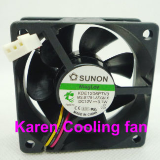 SUNON 6cm KDE1206PTV3 HA60251V4-0000-C99 6025 12v 0.7W Cooling fan