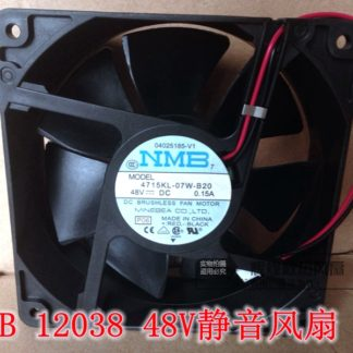 NEW NMB-MAT Minebea 4715KL-07W-B20 12038 48V 0.15A 12CM 2lines Frequency converter cooling fan