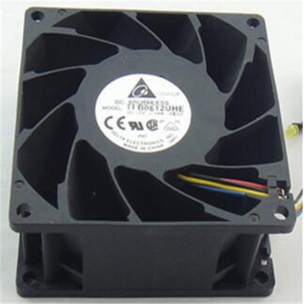 Original Delta TFB0812UHE DC 12V 2.34A 8038 8CM PWM Server Temperature Control Violent Cooling Fan