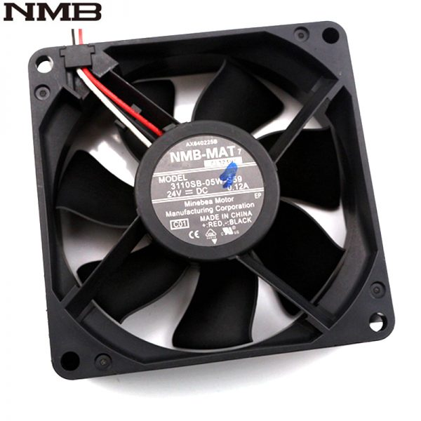 NMB 3110SB-05W-S59 8025 24V 0.12A 80*80*25mm axial inverter cooling fan