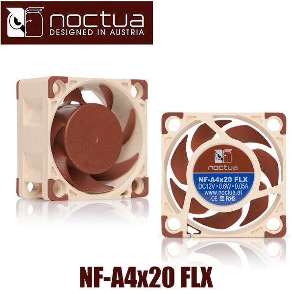 Noctua NF-A4x20 FLX 40mm 40X40X20mm 5000 RPM 14.9 dB(A) PC Cooling Fan Cooler Fan Radiator fan Computer Cases & Towers Fan