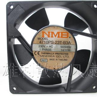 Original NMB 4710PS-23T-B3A 120*120*25MM 12cm AC230V 14/11W cabinet cooling fan