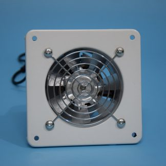 100MM exhaust fan, 4 inch dust blower used for kitchen toilet wall, mute axial flow fan square shape in ventilation