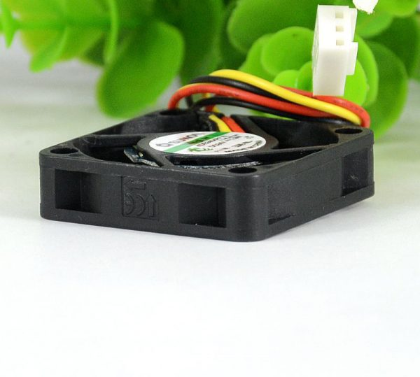 SUNON KDE2404PFVX 4010 40*40*10mm DC 24V 1.9W 4cm 3-wire Silent Power Computer Inverter Cooling Fan