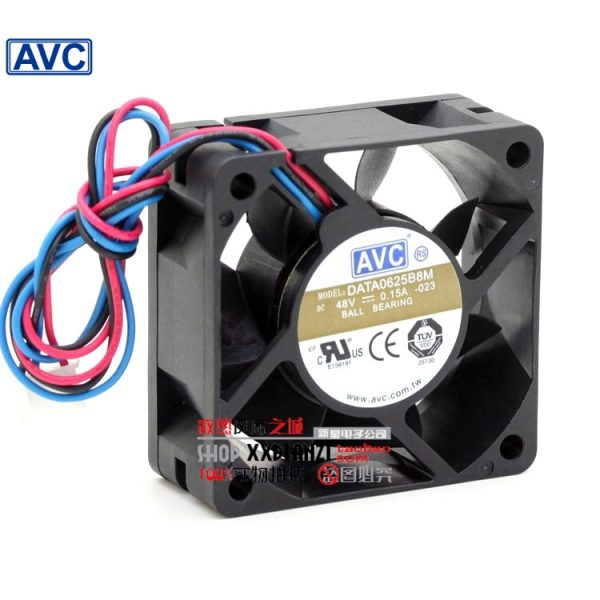 AVC new DATA0625B8M 6CM 6025 48V 0.15A dual ball bearing fan drive 60*60*25mm